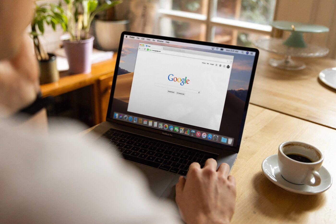 Google Suche Laptop